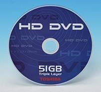 Disco HD DVD de 51 GB en tres capas a falta de confirmación