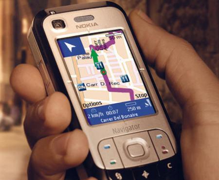 Nokia promete la mitad de sus teléfonos con GPS para 2010