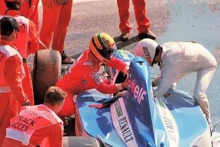 Senna Comas Belgica F1 1992