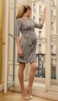 seraphine vestido cruzado