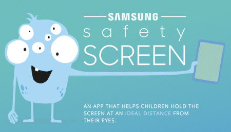 Samsung Safety Screen, una app para que los niños usen las pantallas a una distancia ideal