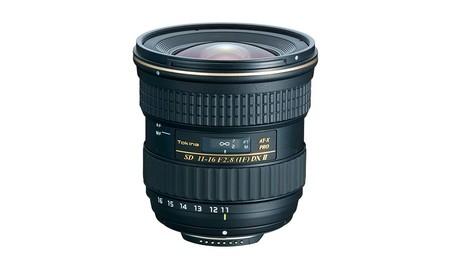 Si buscas un gran angular para tu reflex APSC de Canon, hoy tienes el Tokina 11-16mm Pro DX2 f2.8 en Amazon por 409 euros