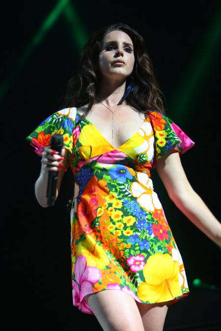 coachella looks cantantes celebrities Lana Del Rey