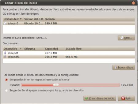 Cómo instalar Linux con un sistema de archivos persistente en un USB en dos pasos