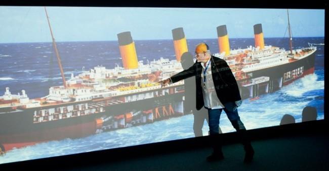 Maqueta del Titanic Granada