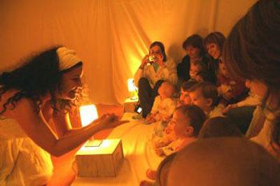 Rompiendo el cascarón 2009: ciclo de teatro para bebés