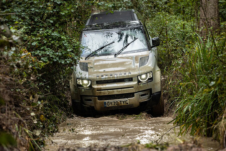Land Rover defender hidrógeno