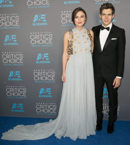 Keira Knightley Delpozo vestido Critics Choice Movie Awards 2015
