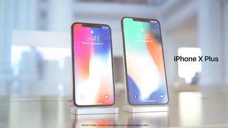 Aún no tenemos stock de iPhone X y ya tenemos un render que imagina cómo sería un modelo Plus de 6,7 pulgadas