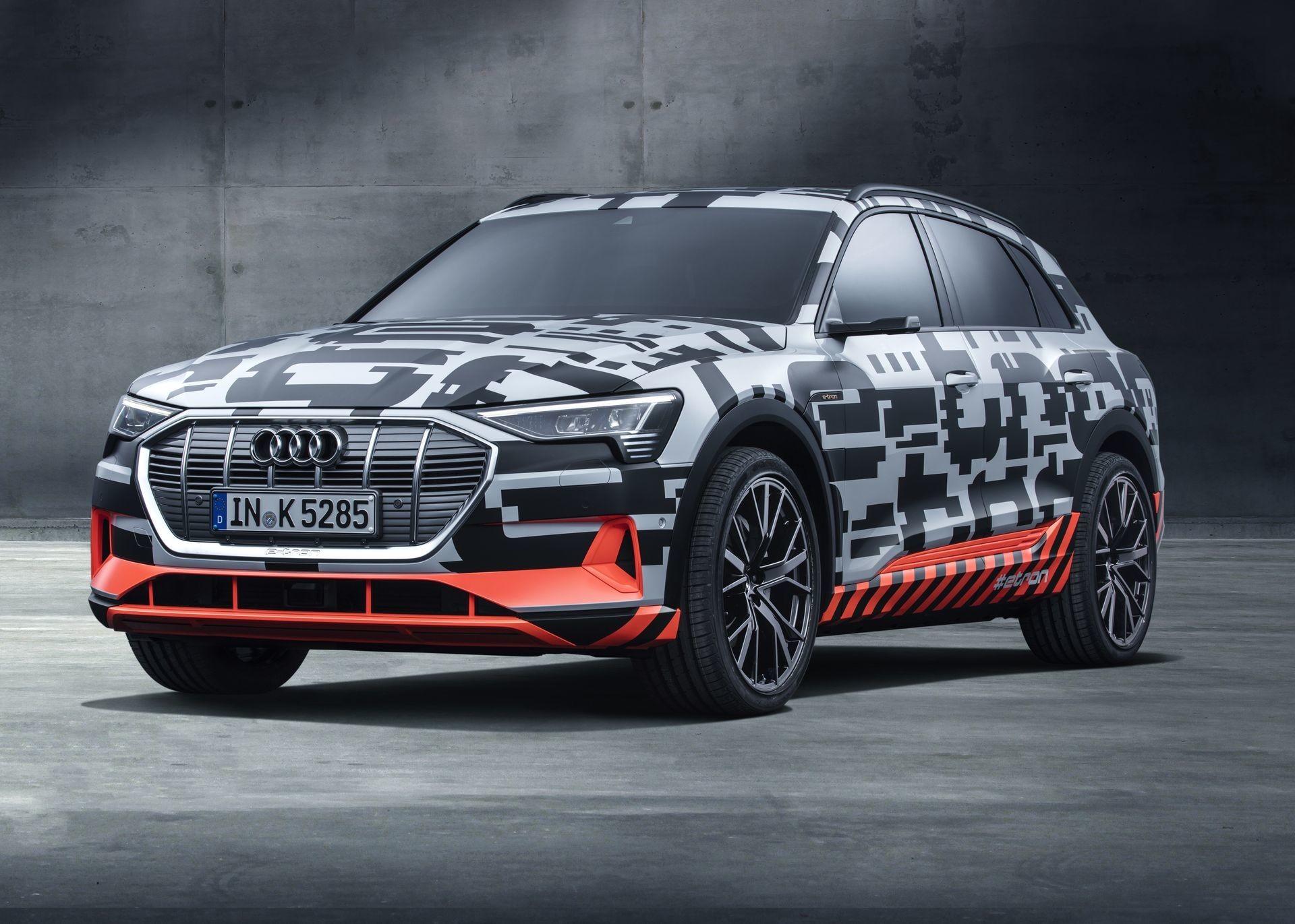 Foto de Audi e-tron concept en el Auto Show de Ginebra 2018 (1/7)