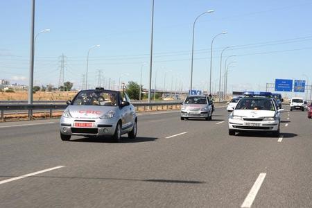 Un coche del CSIC ya ha rodado sin conductor en España