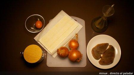 Tartaleta de atún - ingredientes