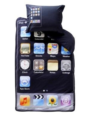 Cojín y edredón con estilo iPod Touch