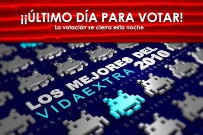 Lo mejor del 2010 en VidaExtra. ¡Último día para votar!