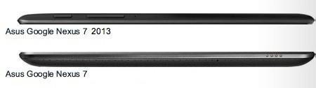 Nexus 7 vs Nexus 7 (2013) - Grosor