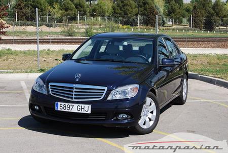 Mercedes-Benz C 200 CDI BlueEFFICIENCY, prueba (parte 1)