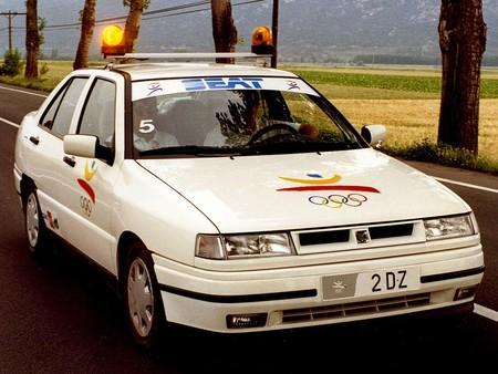 Así era el SEAT Toledo eléctrico que acompañó a la antorcha olímpica en Barcelona '92