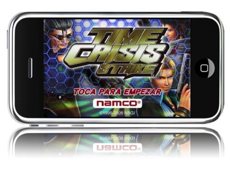 Time Crisis Strike disponible para el iPhone o iPod Touch