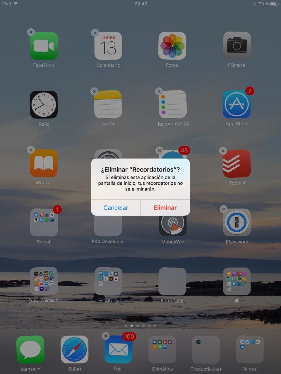 Foto de iOS 10 en iPad (20/26)