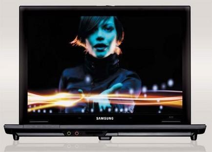 Portátil Samsung R20, de la serie Aura