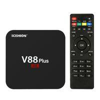 Convierte tu televisor en un Smart TV por 28 euros con este TV Box Scishion V88 Plus