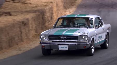 La actuación de este Ford Mustang autónomo en Goodwood ha dado la vuelta al mundo pero, ¿qué ocurrió?