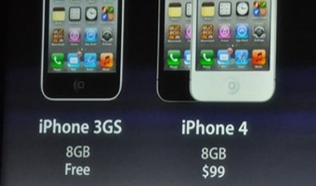 El iPhone 4S dispara las ventas del iPhone 3GS a cero dólares