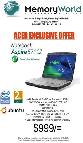 Ordenadores Acer con Linux preinstalado