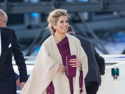 Más estilismos en la cena de los nuevos Reyes de Holanda