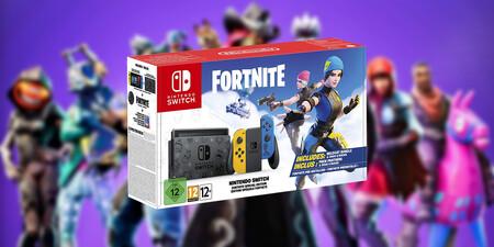 Nintendo Switch Edición especial Fortnite a precio mínimo histórico en Amazon y Media Markt, ¡menos de 300 euros y envío gratis!