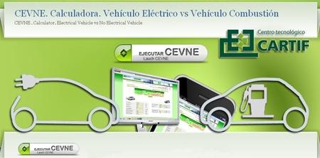 CEVNE de Cartif: calculadora/comparador entre coches eléctricos y de combustión (primera parte)