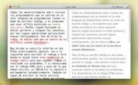 Mou, un interesante editor de Markdown en desarrollo para OS X Lion