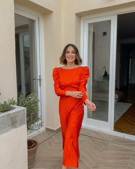 Tamara Falco Vestido Rojo Invitada Boda 01