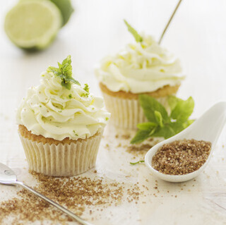 Cupcakes de mojito: receta de postre para adultos caprichosos