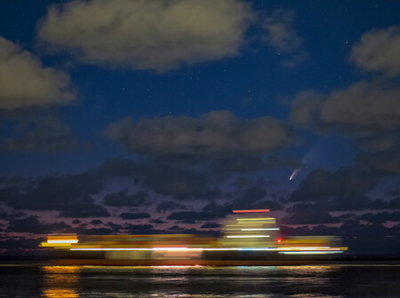 Runner Up A Lonely Ship Under The Stars C Andre Van Der Hoeven