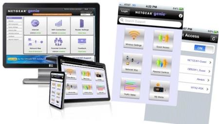 Netgear Genie Mobile pone el contro de tu red en el teléfono o tablet