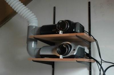 Cómo recrear una proyección en 3D con el uso de dos proyectores