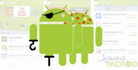 Google saca 21 aplicaciones de Android Market por malware