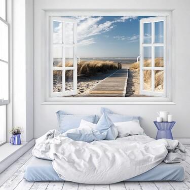 Cómo elegir papel pintado para que tu dormitorio parezca más grande