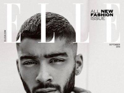 Zayn Malik, porque no hay dos sin tres, protagoniza otra portada idéntica, esta vez para Elle UK