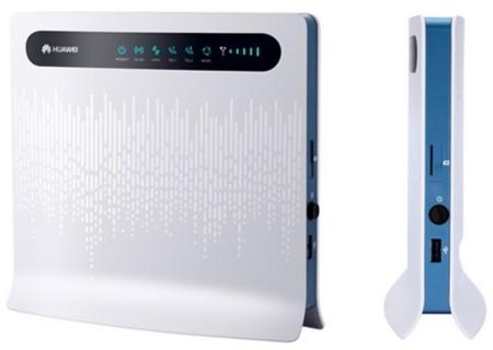 Huawei B593 router LTE 4G Amena