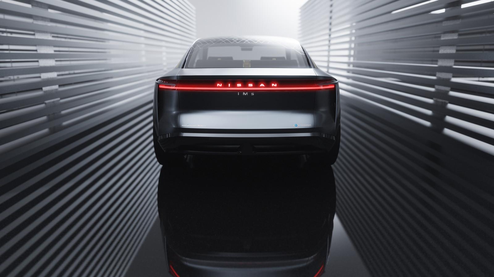 Nissan IMs EV Sports Sedan concept