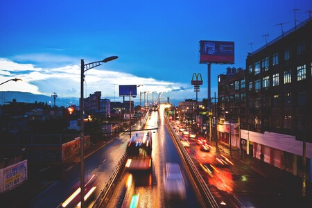 El tráfico disminuyó en México un 16% en 2020, y estos fueron los meses y días más caóticos