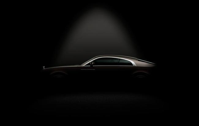 Rolls-Royce Wraith, teaser: silueta