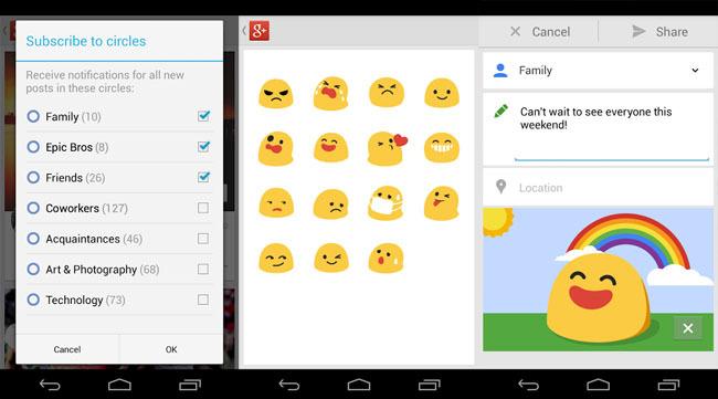 Google+ 3.3.0 para Android