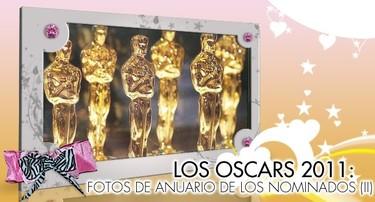 Especial Famosos en los Oscars 2011: Fotos de Anuario de los Actores Nominados (II)