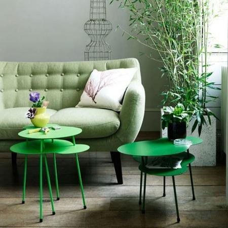 Cinco maneras de poner verde brillante en tu hogar y darle un aire primaveral