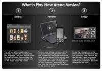 PlayNow Arena, cine para los móviles