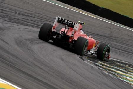 GP de Brasil de Fórmula 1. Fernando Alonso minimiza daños