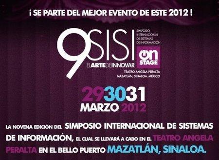 Simposio Internacional de Sistemas de Información 2012 en Mazatlán